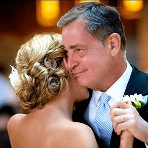 آهنگ رقص دو نفرهی پدر و دختر در روز عروسی