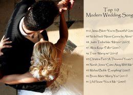 ۱۰ آهنگ مدرن برای رقص مراسم عروسی