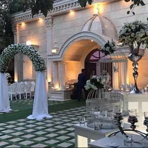 باغ عروسی در غرب تهران با قیمت مناسب